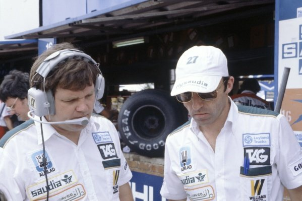 1980 South African Grand Prix.Kyalami, South Africa. 28 February-1 March 1980.Patrick Head and Frank Williams. Portrait.World Copyright: LAT PhotographicRef: 35mm transparency 80SA10