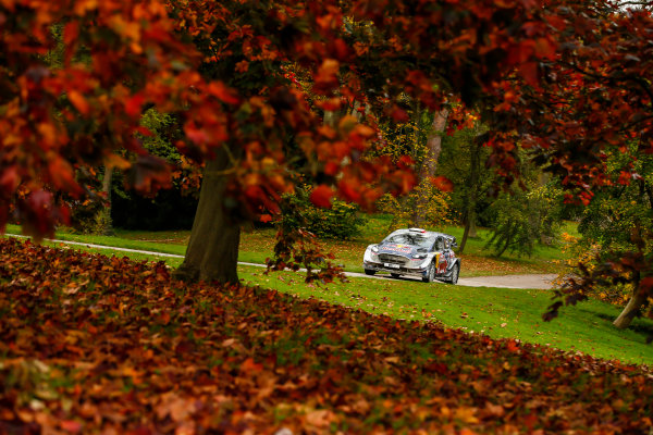 2017 FIA World Rally Championship, Round 12, Wales Rally GB, 26-29 October, 2017, Sebastien Ogier, Ford, action, Worldwide Copyright: LAT/McKlein
