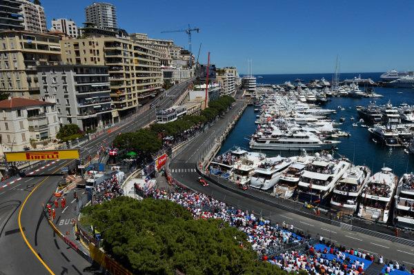 Fernando Alonso (ESP) Ferrari F14 T. Formula One World Championship, Rd6, Monaco Grand Prix, Qualifying, Monte-Carlo, Monaco, Saturday 24 May 2014.
