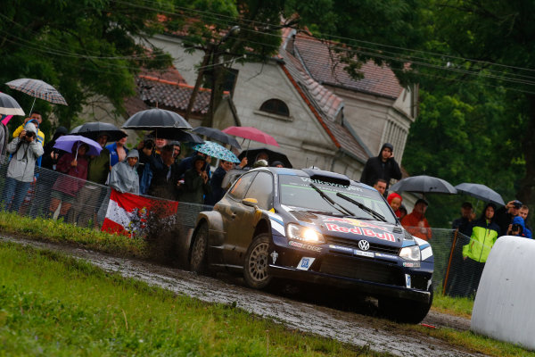 2016 FIA World Rally Championship, Round 07, Rally Poland,  June 30 - July 03, 2016 Andreas Mikkelsen, Volkswagen, action Worldwide Copyright: McKlein/LAT