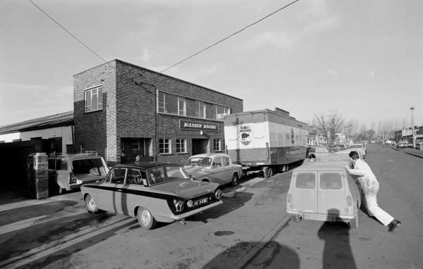 The Mclaren Factory in December 1967