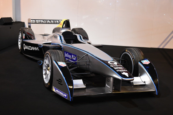 Formula E car. Autosport International Show, NEC, Birmingham, England, 8 January 2015.
