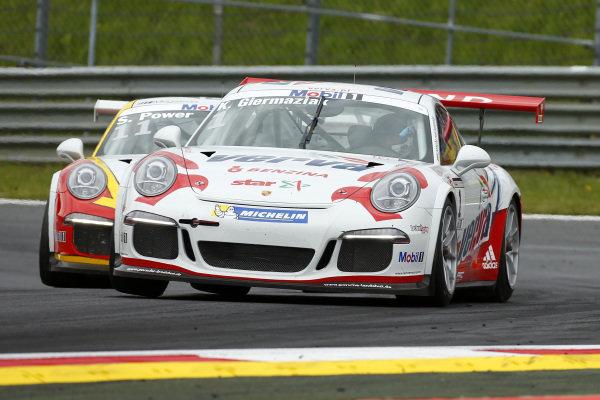 Kuba Giermaziak (POL) VERVA Lechner Racing Team at Porsche Supercup, Rd3, Spielberg, Austria, 19-21 June 2015.