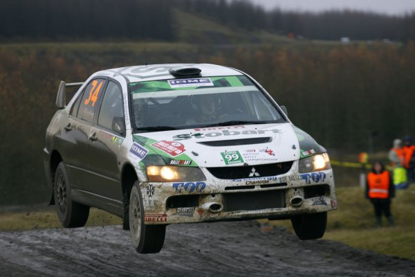 2007 British Rally ChampionshipWales Rally GB, 30thNovember  - 2nd December 2007,Mark Higgins/MitsubishiWorld Copyright: Ebrey/LAT Photographic