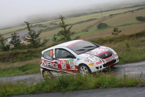 Manx International Rally 2008, 17th-19th July 2008Jason Pritchard/George Gwynn Citroen C2 R2World Copyright: Ebrey/LAT Photographic