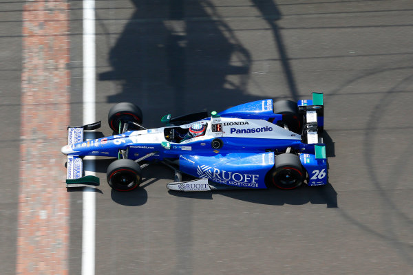Verizon IndyCar Series Indianapolis 500 Race Indianapolis Motor Speedway, Indianapolis, IN USA Sunday 28 May 2017 Takuma Sato, Andretti Autosport Honda World Copyright: Russell LaBounty LAT Images