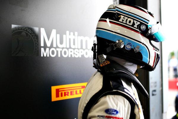 Sir Chris Hoy Multimatic Motorsports Ford Mustang GT4