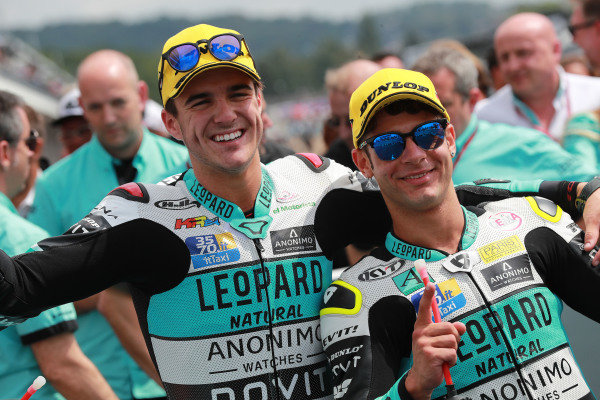 Race winner Lorenzo Dalla Porta, Leopard Racing, second place Marcos Ramirez, Leopard Racing.