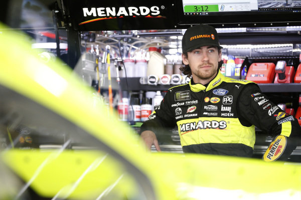 #12: Ryan Blaney, Team Penske, Ford Mustang Menards/Sylvania