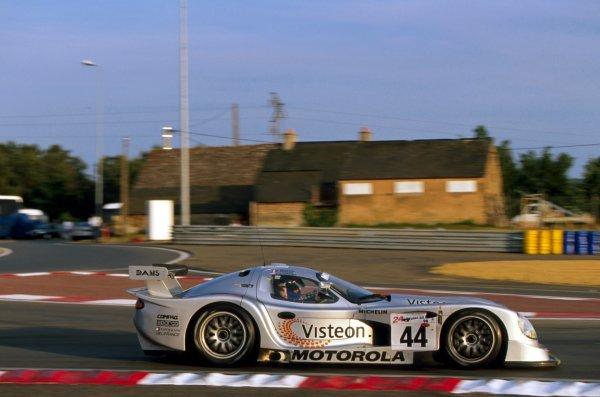 Eric Bernard (FRA) DAMS Panoz GTR-1. Le Mans 24 Hours, Le Mans, France, 6-7 June 1998. BEST IMAGE