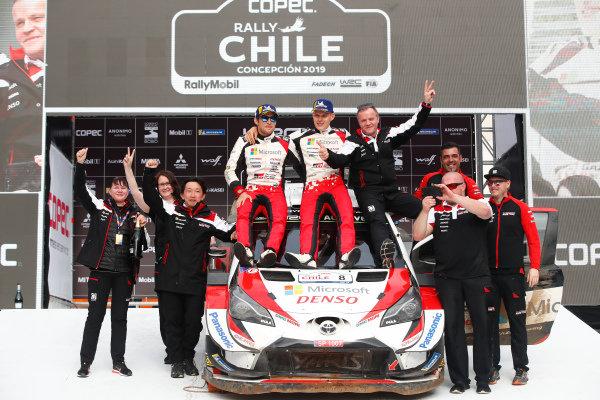 Ott Tänak, Martin Jarveoja, Tommi Makinen, Toyota Gazoo Racing, Toyota Yaris WRC 2019
