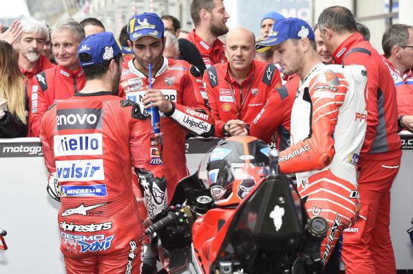 Dovizioslo, Danilo Petrucci, Ducati Team, Jack Miller, Pramac Racing.