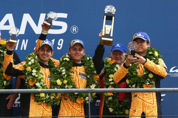 #84 JMW Motorsport, Ferrrai 488 GTE - Jeffrey Segal, Rodrigo Baptista, Wei Lu