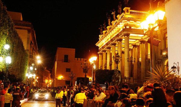 Atmosphere in Leon. FIA World Rally Championship, Rd3, Rally Guanajuato Mexico, Preparations, Leon, Mexico, Thursday 6 March 2014.