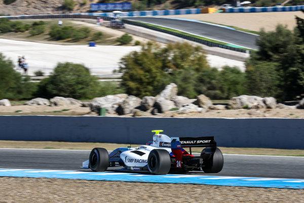 JEREZ (ESP) 28-30 oct 2016, Spanish F4, Euro Formula Open and Formula V8 3.5 2016 at circuito de Jerez. Matevos Isaakyan #24 SMP Racing. Action. © 2016 Klaas Norg / Dutch Photo Agency / LAT Photographic