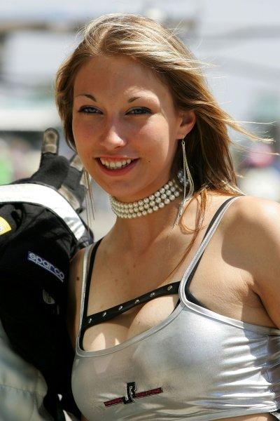 Girls. Nurburgring 24 Hour Race, Nurburgring, Germany 17-18 June 2006 DIGITAL IMAGE