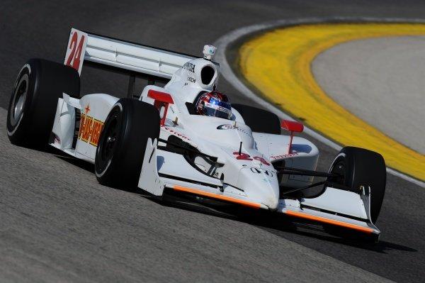 John Andretti (USA), Roth Racing.IndyCar Series, Rd6, ABC Supply/AJ Foyt 225, The Milwaukee Mile, Milwaukee, WI, USA, 31 May - 1 June 2008.