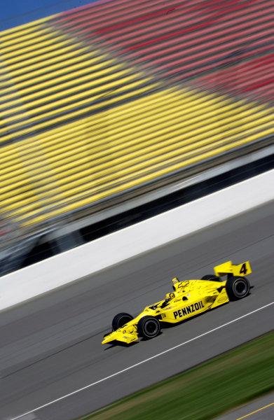 2003 IRL IndyCar Michigan International Speedway 7/25-7/27/2003, Brooklyn,Michigan USASam HornishWorld Copyright-Walt Kuhn 2003 LAT Photographicref: Digital Image Only