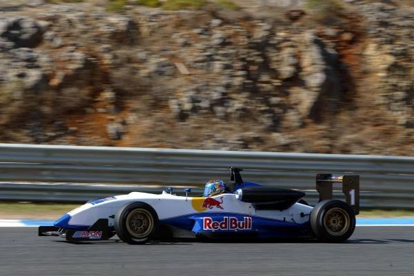 Matt Jaskol (USA).Red Bull US Driver Search, Estoril, Portugal, 12-13 October 2004.DIGITAL IMAGE