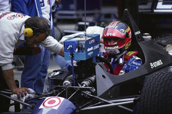 Piercarlo Ghinzani, Ligier JS29C Megatron.