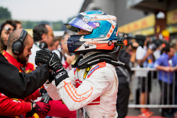 2017 FIA Formula 2 Round 8. Spa-Francorchamps, Spa, Belgium. Sunday 27 August 2017. Nyck De Vries (NED, Racing Engineering).  Photo: Zak Mauger/FIA Formula 2. ref: Digital Image _56I3502