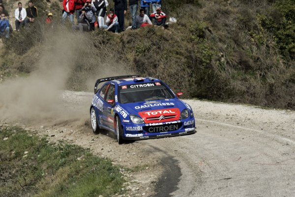 2006 FIA World Rally Champs. Round four Rally Catalunya Spain. 24-26th March 2006Sebastain Loeb, Citroen, action.World Copywright: Mcklein/LAT