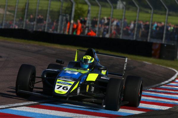 2017 British F4 Championship, Thruxton, 6th-7th May 2017,  Linus Lundqvist (SWE) Double R Racing British F4 World copyright. JEP/LAT Images