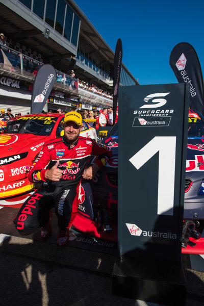 2017 Supercars Championship Round 1.  Clipsal 500, Adelaide, South Australia, Australia. Thursday March 2nd to Sunday March 5th 2017. Shane Van Gisbergen driver of the #97 Red Bull Holden Racing Team Holden Commodore VF. World Copyright: Daniel Kalisz/LAT Images Ref: Digital Image 040317_VASCR1_DKIMG_6169.JPG