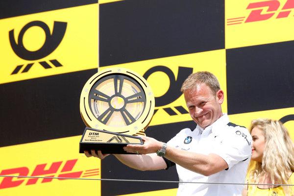 Podium: Stefan Reinhold, Team principal, BMW Team RMG.
