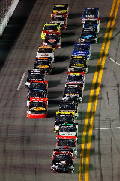 21-22 February, 2013, Daytona Beach, Florida USA Kyle Busch and Todd Bodine.(c)2013, Russell LaBounty LAT Photo USA .