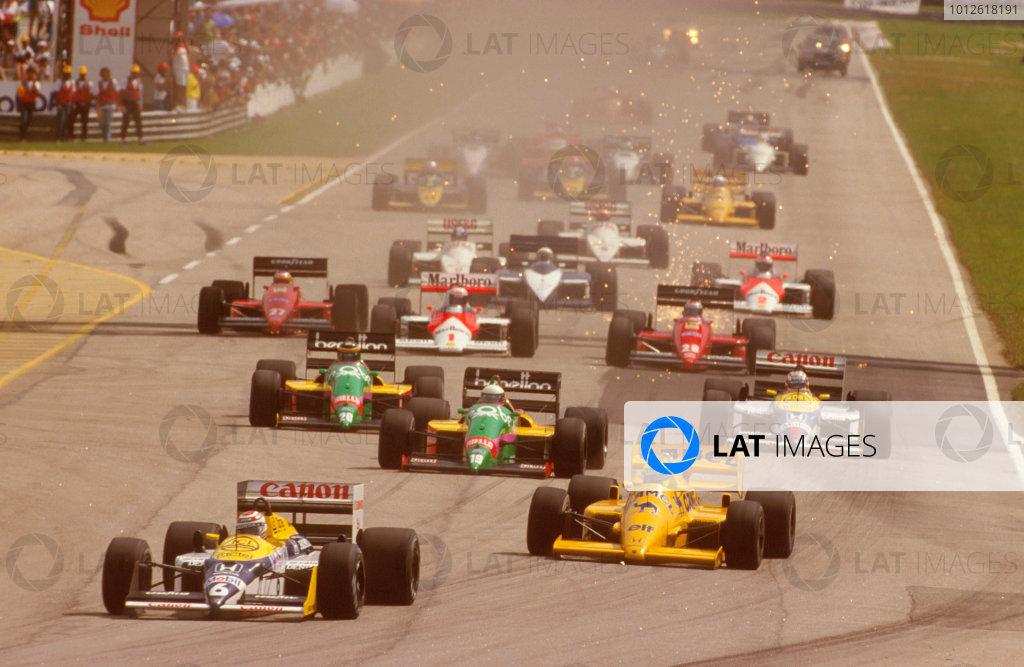 1987 Brazilian Grand Prix.