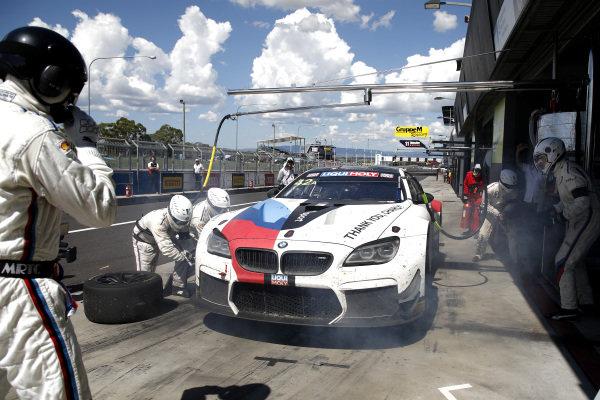 #42 BMW Team Schnitzer BMW M6 GT3: Augusto Farfus, Chaz Mostert, Martin Tomczyk.