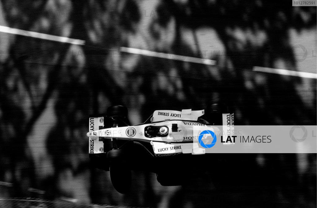 2002 Monaco Grand Prix.