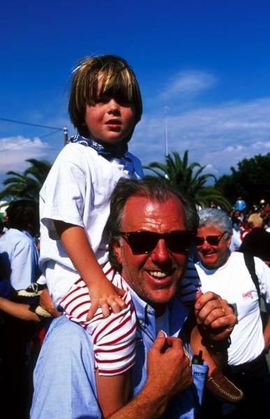 David Richards (GBR) Pro Drive Manager and Benetton Team Principal enjoys time away from the bustle of F1.Tour de Corse, Corsica, France, 4-6 May 1998.