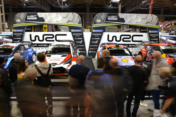 The WRC stand.