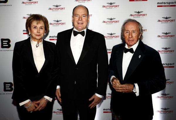HSH Prince Albert II of Monaco, and Sir Jackie Stewart