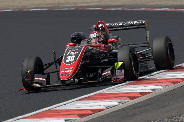 Round 20 winner Ritomo Miyata, Corolla Chukyo Kuo TOM'S, Dallara F317 Toyota