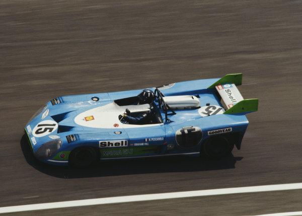 Henri Pescarolo / Graham Hill, Equipe Matra-Simca Shell, Matra-Simca MS670.
