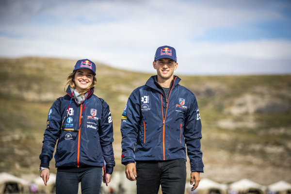 Catie Munnings (GBR), Andretti United Extreme E, and Timmy Hansen (SWE), Andretti United Extreme E