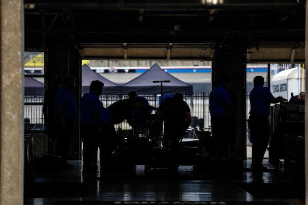 #51: Pietro Fittipaldi, Dale Coyne Racing with RWR Honda car in tech