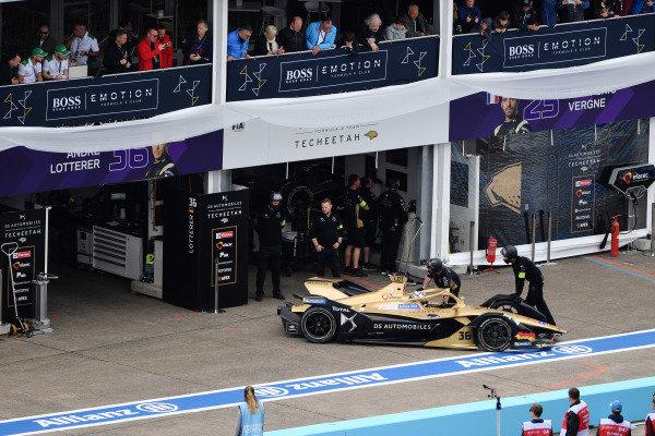 Andre Lotterer (DEU), DS TECHEETAH, DS E-Tense FE19, retires from the race