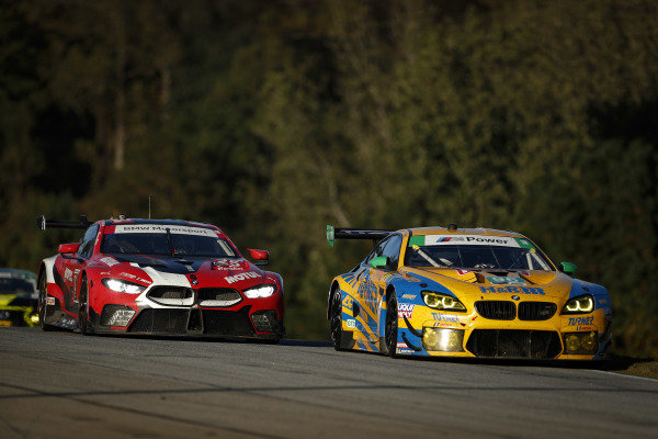 #25 BMW Team RLL BMW M8 GTE, GTLM: Connor De Phillippi, Bruno Spengler, Colton Herta, #96 Turner Motorsport BMW M6 GT3, GTD: Robby Foley III, Bill Auberlen, Dillon Machavern