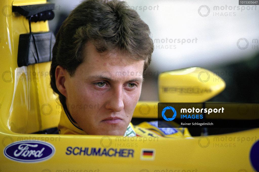 Michael Schumacher, Benetton B191B Ford.