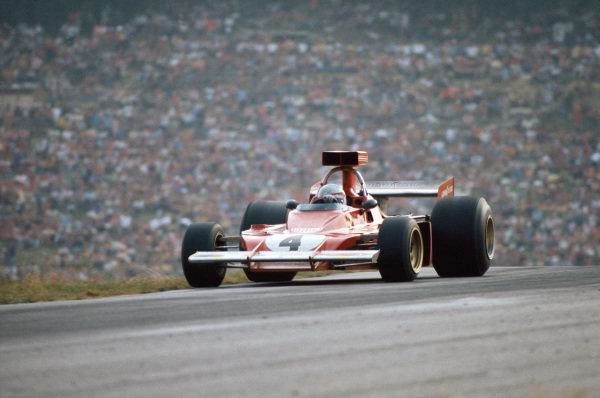 1973 Austrian Grand Prix.  Osterreichring, Austria. 17-19th August 1973.  Arturo Merzario, Ferrari 312B3, 7th position.  Ref: 73AUT31. World Copyright: LAT Photographic