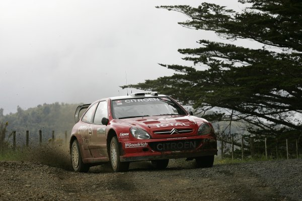 2006 FIA World Rally Champs. Round fifteenNew Zealand Rally.16th-19th November 2006.Xavier Pons, Citroen, action.World Copyright: McKlein/LAT