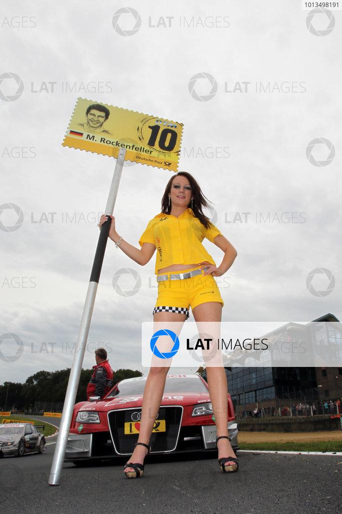 DTM grid girlDTM, Rd7, Brands Hatch, England, 3-5 September 2010.World Copyright: LAT Photographicref: dne1005se231