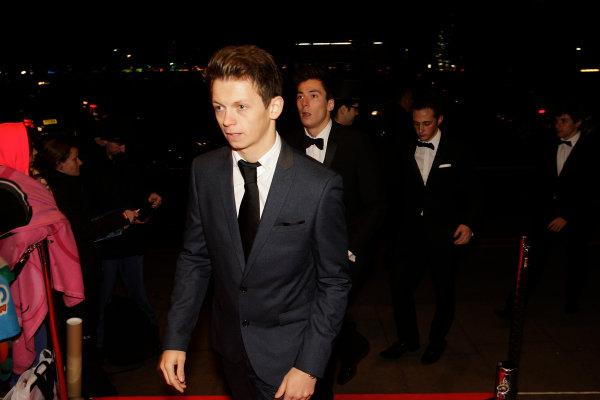 2013 Autosport Awards. Grosvenor House Hotel, Park Lane, London. Sunday 1st December 2013. Nick Yelloly. World Copyright: Sam Bloxham/LAT Photographic. ref: Digital Image _LOX6215