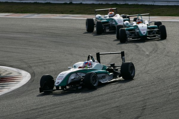 2008 Japanese Formula Three ChampionshipFuji Speedway, Japan. Rounds 1 & 25th - 6th April 2008.Round 1 winner -  Takuto Iguchi (Petronas Team TOM's), 1st position. Action. World Copyright: Yasushi Ishihara / LAT Photographicref: Digital image 2008JF3_Rd1_002