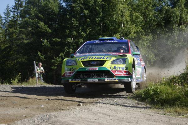 Round 09Neste Oli Rally Finland 200831/7-3/8  2008Jari-Matti Latvala, Ford WRC, Action