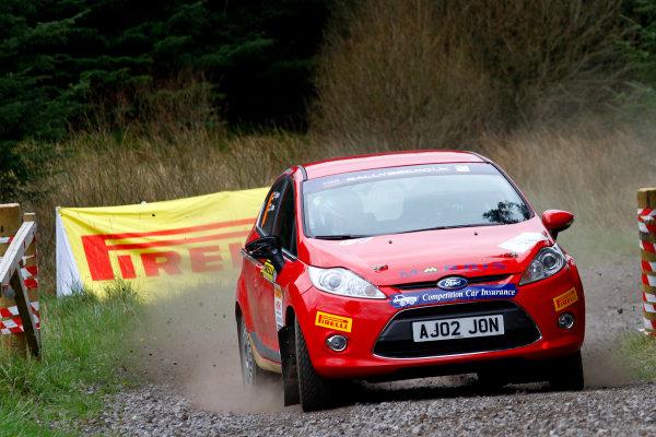 2014 MSA British Rally Championship, Pirelli Carlisle R B Foundation Rally. 3rd - 4th May 2014. Jonathan Jones / Jez Rogers Ford Fiesta R1. World Copyright: Ebrey / LAT Photographic.